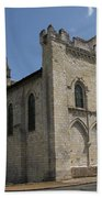 Old Church - Loire - France Beach Towel
