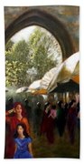 Old City Ahmedabad Series 7 Painting By Uma Krishnamoorthy
