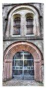 Old City Jail Entrance Beach Towel