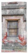 The Old City Jail Window Chs Beach Towel