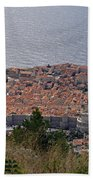 Old City Of Dubrovnik  Beach Towel