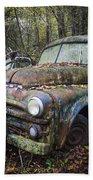 Old Dodge Truck Beach Towel