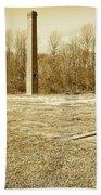 Old Faithful Smoke Stack Beach Towel