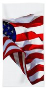 America The Beautiful Usa Beach Towel