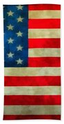 Old Glory Beach Towel by Dan Sproul