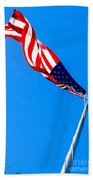 Old Glory Hdr Beach Towel