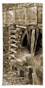 Old Grist Mill Photo Beach Towel