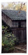 Old Grist Mill Beach Towel by Thomas Woolworth