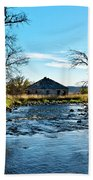 Old Homestead Along Hwy 16 Beach Towel