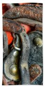 Old Horse Shoes Beach Towel