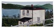 Old House - If Walls Could Talk Beach Towel