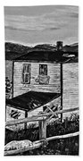 Old House - Memories - Shutters And Boards Beach Towel