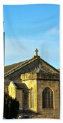 Old Kilpatrick Church 01 Beach Towel