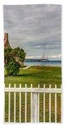 Old Mackinac Point Lighthouse Beach Towel