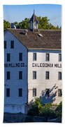 Old Mill In Caledonia Ontario Beach Towel