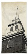 Old North Church In Boston Beach Towel