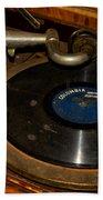 Old Phonograph Beach Sheet