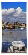 Old Port Holiday Beach Towel