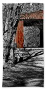 Old Red Bridge Beach Towel