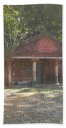 Old Red House In Lal Bag Beach Towel