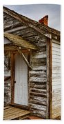Old Rustic Rural Country Farm House Beach Towel