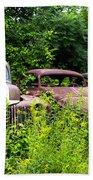 Old Rusty Cars Beach Towel