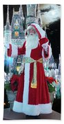 Old Saint Nick Walt Disney World Digital Art 02 Beach Towel