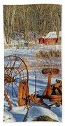 Old School Beach Towel by Bill Wakeley