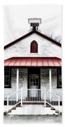 Old Schoolhouse Chester Springs Beach Towel