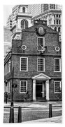 Old State House In Boston Beach Towel