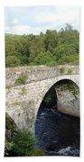 Old Stone Bridge In Scotland Beach Towel