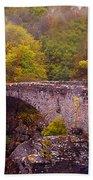 Old Stone Bridge. Scotland Beach Towel