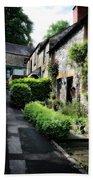 Old Terrace Houses - Peak District - England Beach Towel