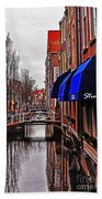 Old Town Delft Beach Towel