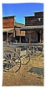 Old Town Mainstreet Beach Towel by Marty Koch