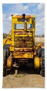 Old Tractor Beach Towel