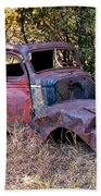 Old Truck - Purtis Creek Beach Towel