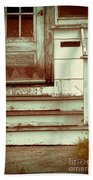 Old Wooden Porch Beach Towel