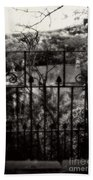 Olde Victorian Gate Leading To A Secret Garden - Peak District - England Beach Towel