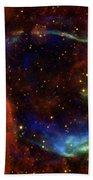 Oldest Recorded Supernova Beach Towel