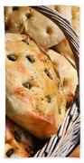 Olive Bread Beach Towel