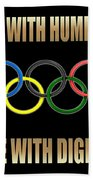 Olympic Spirit Beach Towel