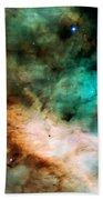 Omega Swan Nebula 2 Beach Towel