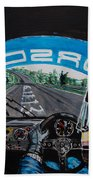 On Board Stefan Belloff Nurburgring Record Beach Towel