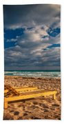 On Golden Sands Beach Towel