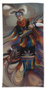On Sacred Ground Series II Beach Towel