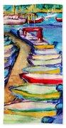 On The Boardwalk Beach Towel