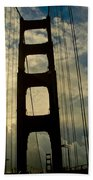 On The Bridge Beach Towel