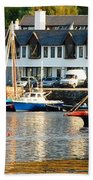 On The Waterfront Beach Towel