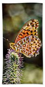 On The Wings Of A Butterfly... Beach Towel